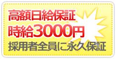 高額保証・時給3000円